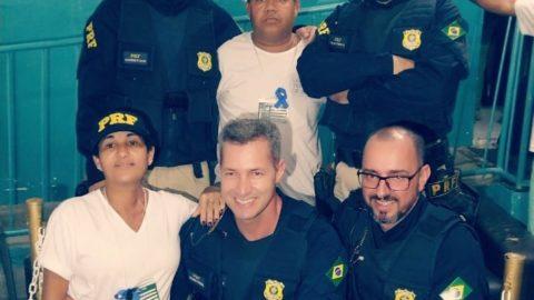 Ação solidária da Polícia Rodoviária Federal (PRF)
