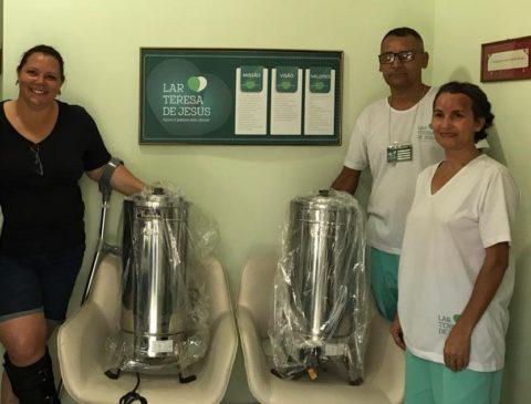 Doação de Cafeteiras Industriais pela ACERVA (Associação dos Cervejeiros Artesanais de Minas Gerais)